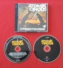 ATOMIK CIRCUS BO ORIGINAL FILM LITTLE RABBITS PARADIS TRÈS BON ÉTAT CD + DVD