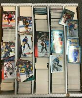 Huge NHL Hockey Card Commons Lot 2000's Full of Approx. 5000 cards