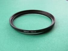 55mm-58mm 55-58 Step Up Male-Female Lens Filter Ring Adapter 55mm-58mm