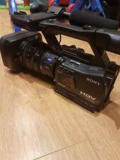 Sony HVR-Z7E PAL HDV DVCam videocamera con memoria Sony Borsa per trasporto unità di registrazione