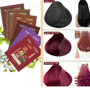 Natural Permanent Instant Fast Hair Dye Color Shampoo Hair Styling Tools  Ginger