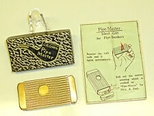 CROWN PIPE MASTER SQUEEZE AUTOMATIC PETROL LIGHTER - QUETSCHZÜNDER - OVP -JAPAN