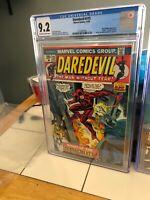 Daredevil #115, NM- 9.2 CGC, Ad for Hulk 181