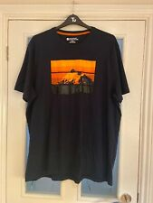 Men's Clothes 3XL Mountain Warehouse Navy TShirt With Print (222)