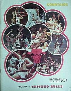 1970-71 CHICAGO BULLS BASKETBALL PROGRAM vs PHOENIX SUNS