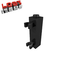 10 x [neu] LEGO Baustein 1 x 1 x 3 mit 2 Vertikalclips - schwarz - 60583