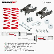 Toyota Hilux Lift Kit 50mm front Coil spring+shocks+grease able shackle