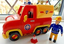 FIREMAN SAM PUSH ALONG TALKING / MUSICAL VENUS RESCUE VEHICLE  WITH ELVIS FIGURE