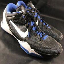 RARE Nike Zoom Kobe 7 VII Treasure Blue Black Dukes Sz 11.5 45.5 488371-400