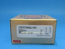 Nsk 7207ctrdulp4y Abec 7 Super Precision Spindle Bearings Set Of Two