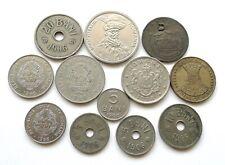 More details for romania lot x 12: dates 1867-1994 inc 5 10 + 20 bani 1906/1906j, 2 lei 1924 ++