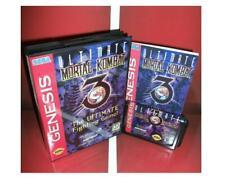 Mortal Kombat 3-The Ultimate Fighting Sega MegaDrive Video Game console16 bit MD