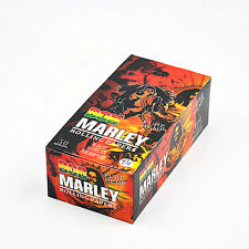 50 Pack/Box BOB MARLEY 78MM Natural Organic Hemp Cigarette Rolling Papers 11/4