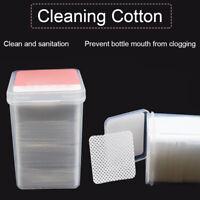 180 Pcs/Box Lint-Free Nail Polish Remover Cottons Nail Art Soft Wipes Cleaner