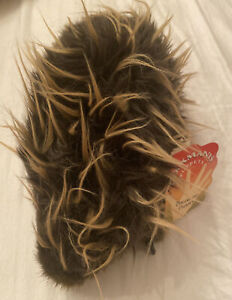 """NEW Folkmanis Porcupine Puppet 14"""" with TAGS retired rare Doll Stuffed Animal"""