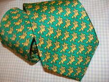 HERMES  silk tie.  PEGASUS,  NEW with box