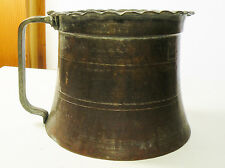 3dbox LARGE COPPER & TIN WASHED POT CONTAINER Middle Eastern