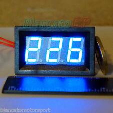 VOLTMETRO AC 60-500V LED BLU pannello 220V alternata digitale solare eolico casa