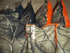 Regulation Corn Hole Bags Baggo Bag Set of 8 - 4 CAMO/BLACK 4 CAMO/ORANGE