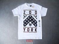 ZOO YORK FLAG T-SHIRT NEU WHITE GR:S ZOO YORK SKATEBOARDING