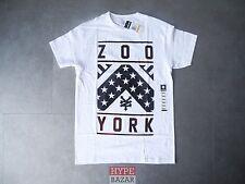 ZOO YORK DRAPEAU NOUVEAU T-SHIRT BLANC TAILLE S ZOO YORK SKATEBOARDING