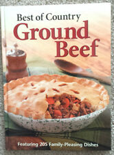 NEW BOOK: Taste of Home BEST Of Country GROUND BEEF Hamburger Recipes SEE SPECIA