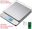Portable 3000g x 0.1g Digital LCD Scale Jewelry Kitchen Food Balance Weight Gram photo