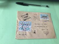 Repulic Islamique de Mauritanie 1970 Nice France to pay stamps cover Ref 21371