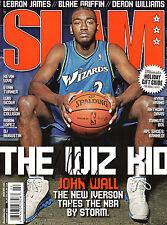 GFA Washington Wizards * JOHN WALL * Signed Slam Magazine COA