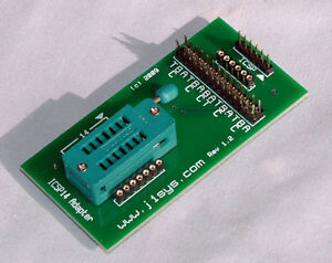 ICSP Adapter ZIF 8/14 pin PIC use with PICkit 2, 3, or 4