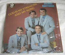 Jacobs Brothers God Is MyStrength And My Song LP JB Pillar Gospel