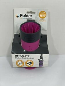 Polder Hot Sleeve Styling Tool Holder NIP
