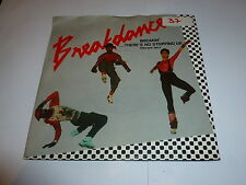 """BREAKDANCE - Breakin there's no stopping us - 1984 UK 2-track 7"""" vinyl single"""