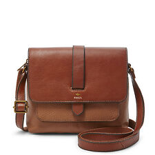 Fossil Kinley Small Crossbody Brown Bag ZB6749200