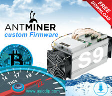 AsicBoost! Custom Firmware Antminer S9,S9i >21Th (20% faster Bitcoin mining)