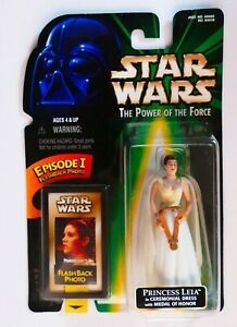 Star Wars HASBRO The Power of Force Princess Leia in Ceremonial Dress Japan 1998