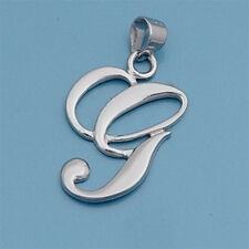 USA Seller Initial Pendant Sterling Silver 925 Best Deal Plain Jewelry Letter G