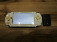 Sony PSP 1000 Console Ceramic White w/battery Pack Japan o884