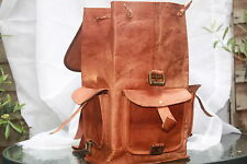 Genuine Leather Zaino Zaino Spalla Borsa quotidiana Party Stile Vintage