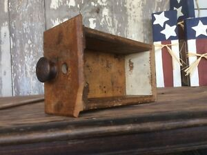 Seeing Cabinet Wood Drawer Small  Sewing Or Spice Drawer Wood Pull