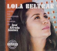 Lola Beltran Canta Las Canciones Mas Bonitas De Jose Alfredo Jimenez CD New