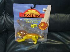 1994 Adult Simba Lion King Fighting Action Figure NEW IN PACKAGE Mattel