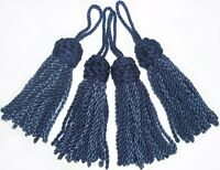 COTTON KEY TASSELS X4, CUSHIONS/BLINDS/CURTAINS ETC, ASSORTED COLS, ART 8578