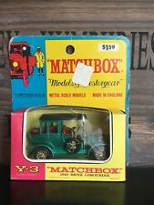 Matchbox Models Of Yesteryear no.3B Later Version mint Rare US-Blistercard 1969