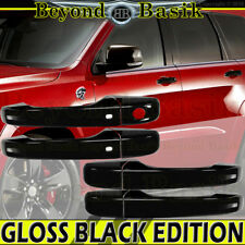 2011-2017 JEEP GRAND CHEROKEE DODGE DURANGO GLOSS BLACK Door Handle Cover W/SKH