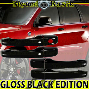 For 2011-2021 JEEP Grand Cherokee DODGE Durango GLOSS BLACK Door Handle Cover SK
