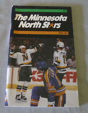 Original NHL Minnesota North Stars 1982-83 Official Hockey Media Guide