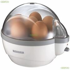 Severin Automatic 6 Egg Boiler Cooker with Auto Switch Off & Buzzer EK3051 White