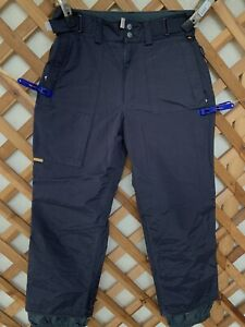 BURTON TACTIC Snowboarding Ski Pants Black Size S Small for Men