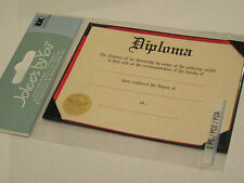 Scrapbooking Stickers Jolee's School Diploma Hard You Fill In University Red